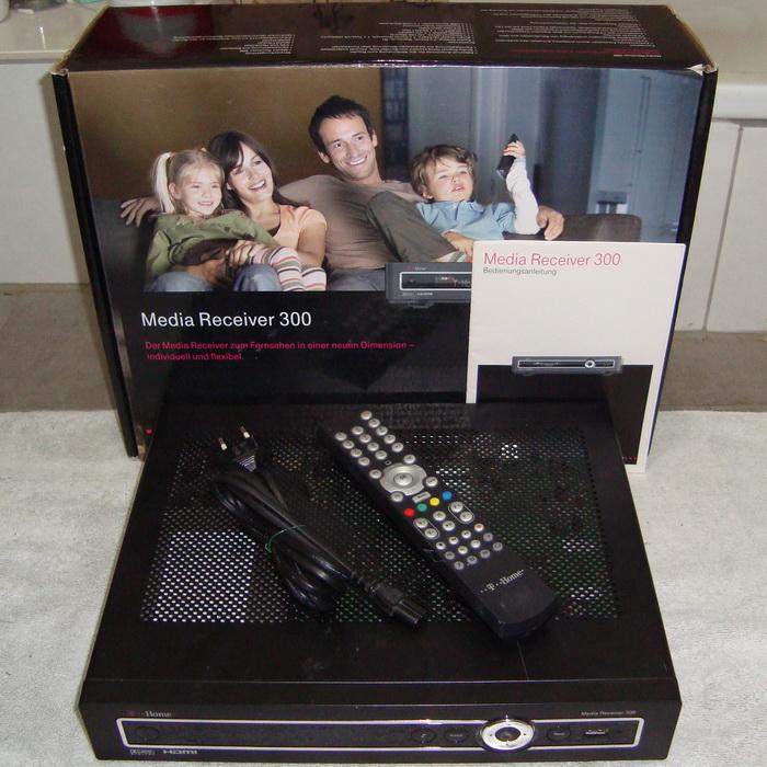 t home media receiver 300 typ a 160 gb festplatte guter zustand zubeh r ovp ebay. Black Bedroom Furniture Sets. Home Design Ideas